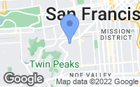 Map of San Francisco, CA