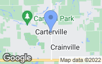 Map of Carterville, IL