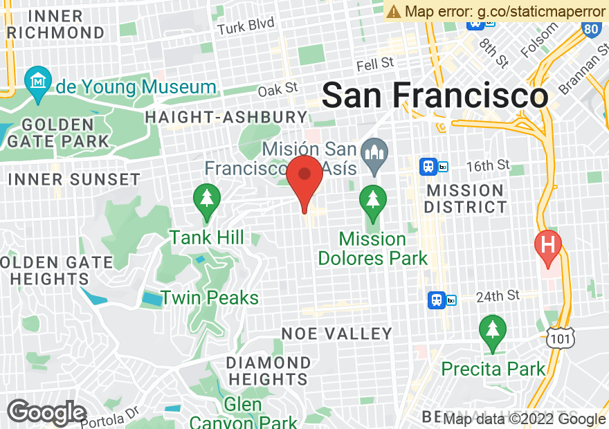 Google Map of 4129 18TH ST