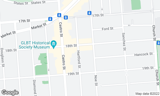 Map of Moby Dick at 4049 18th St San Francisco, CA