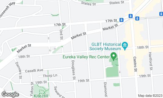Map of Mama Ji's at 4416 18th St San Francisco, CA