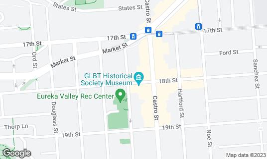 Map of Toad Hall at 4146 18th St San Francisco, CA