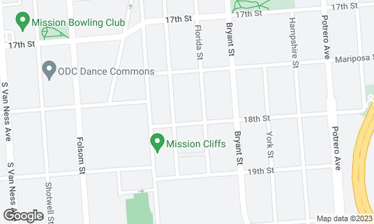Map of Tartine Manufactory at 595 Alabama St San Francisco, CA