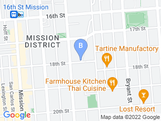 Map of Mission: Cats Dog Boarding options in San Francisco | Boarding