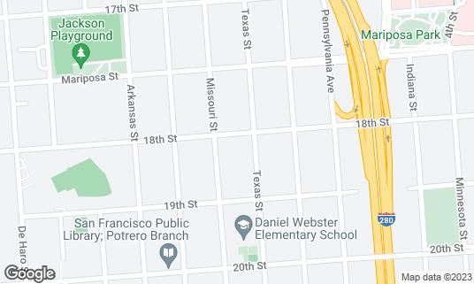 Map of Farley's at 1315 18th St San Francisco, CA