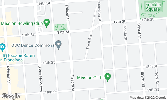 Map of ActivSpace at 3150 18th St San Francisco, CA