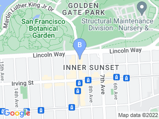 Map of AlphaBeta Dog Club Dog Boarding options in San Francisco | Boarding