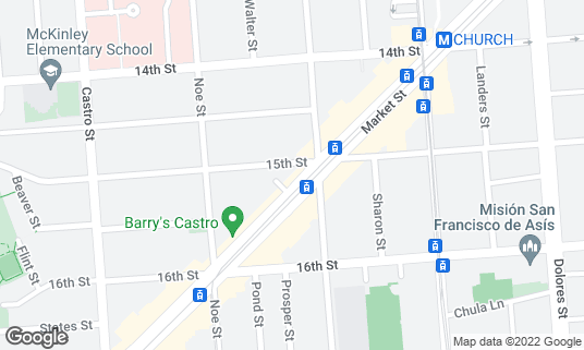 Map of Brewcade at 2200 Market St Ste 102 San Francisco, CA