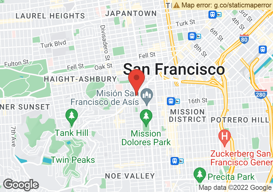 Google Map of 2145 MARKET ST