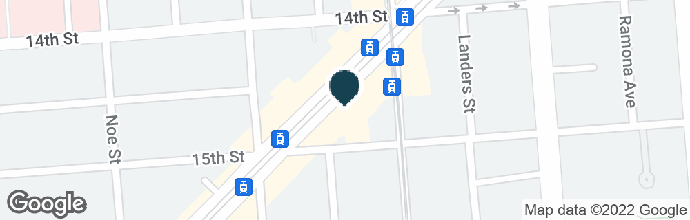 Google Map of2145 MARKET ST