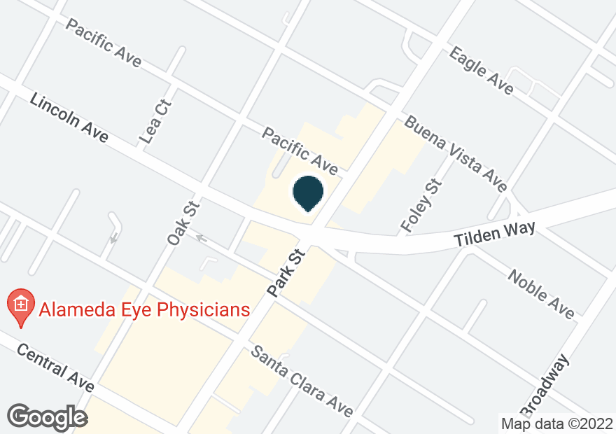 Google Map of1600 PARK ST