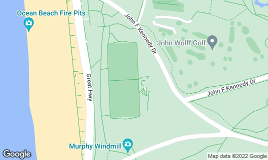 Map of Beach Chalet Soccer Fields at 1400-1598 John F Kennedy Dr San Francisco, CA