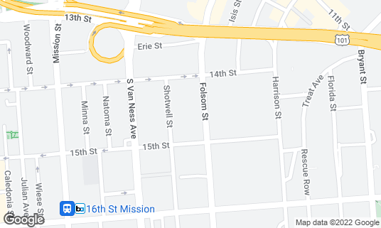 Map of Foods Co at 1800 Folsom St San Francisco, CA
