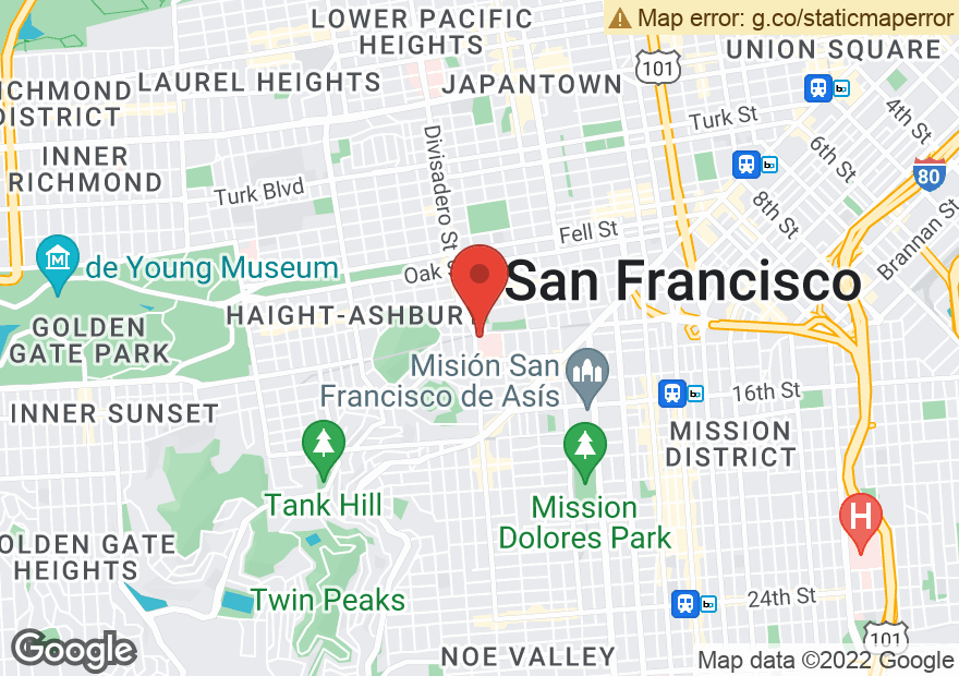 Google Map of 45 CASTRO ST