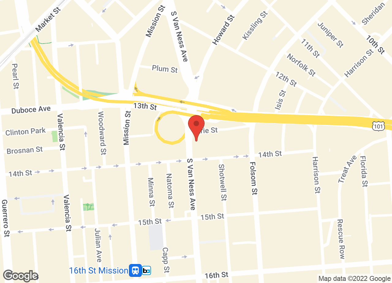 Google Map of VCA All Pets Hospital