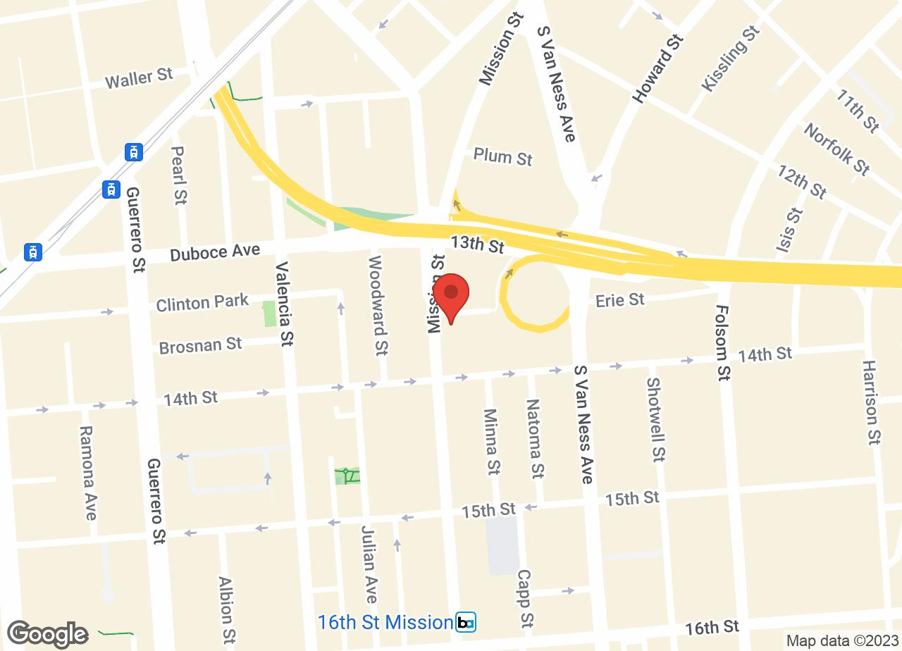 Google Map of VCA All Pets Hospital