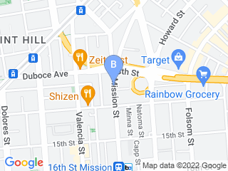 Map of Embarkadero Social Club Dog Boarding options in San Francisco | Boarding