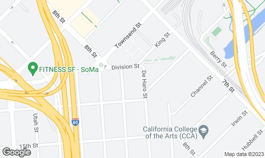 Map of Dumpling Time at 11 Division St San Francisco, CA