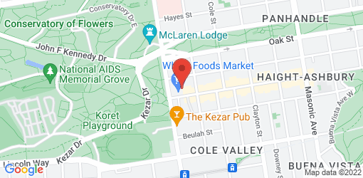 Directions to Whole Foods Market - Haight Street SF