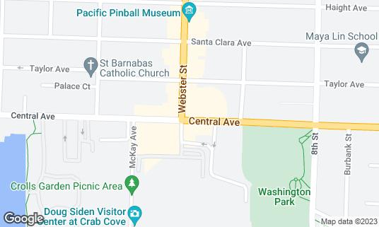 Map of 1400 Bar & Grill at 1400 Webster St Alameda, CA