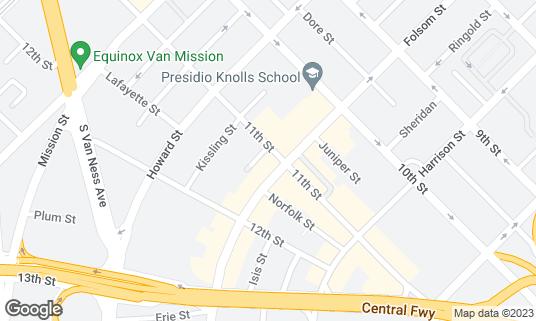 Map of OASIS at 298 11th St San Francisco, CA