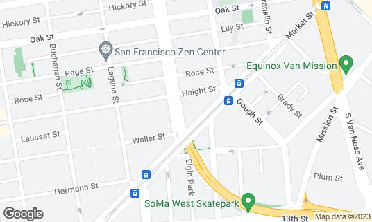 Map of Boba Guys at 8 Octavia St Unit 308 San Francisco, CA