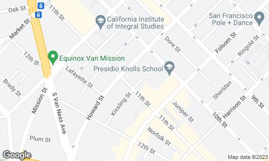 Map of Don Ramon's at 225 11th St San Francisco, CA