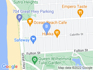 Map of The Panting Pooch Dog Boarding options in San Francisco | Boarding