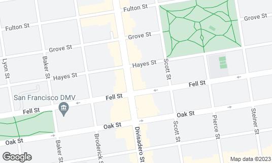 Map of Horsefeather at 528 Divisadero St San Francisco, CA
