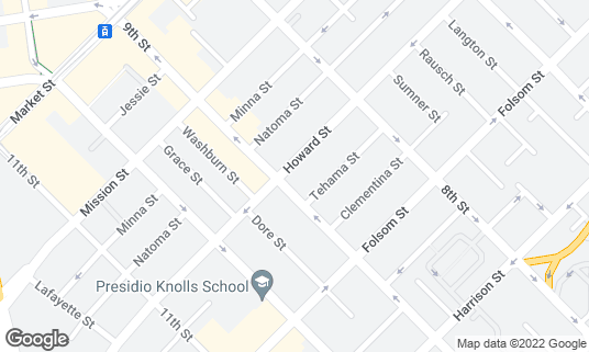 Map of AsiaSF at 201 9th St San Francisco, CA