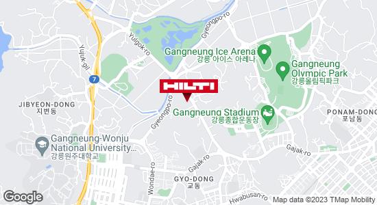 Get directions to 강릉교동657
