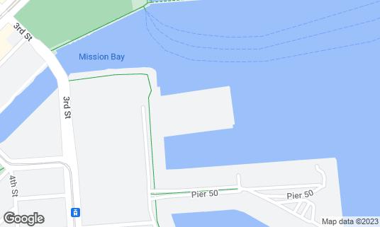Map of Pier 48 at Pier 48 San Francisco, CA