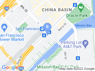 Map of Bark Avenue Doggy Day Care Dog Boarding options in San Francisco | Boarding