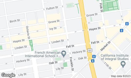 Map of Nojo at 231 Franklin St San Francisco, CA