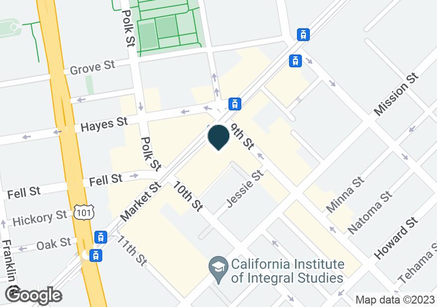Google Map of1301 MARKET ST