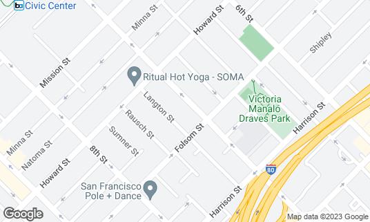 Map of Sightglass Coffee at 270 7th St San Francisco, CA