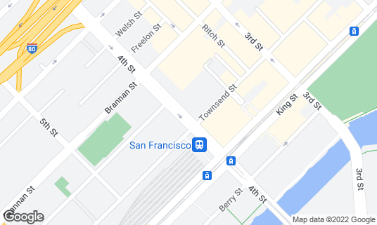 Map of The Creamery at 685 4th St San Francisco, CA