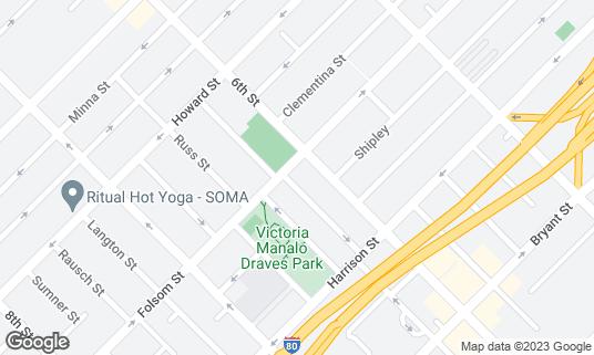 Map of 1015 Folsom at 1015 Folsom St San Francisco, CA