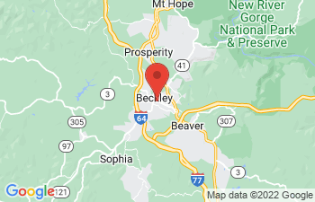 Map of Beckley
