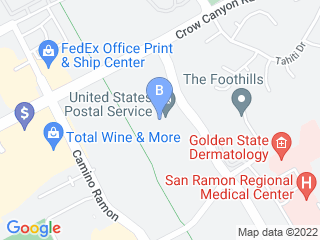 Map of House Calls Pet Sitting Dog Boarding options in San Ramon | Boarding