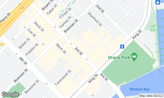 Map of Alchemist Bar & Lounge at 679 3rd St San Francisco, CA