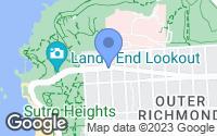 Map of San Francisco, CA