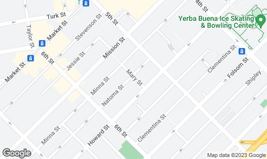 Map of Box Kitchen at 431 Natoma St San Francisco, CA