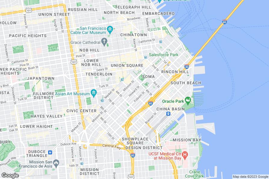 Sanfrancisco Kid Friendly Maps