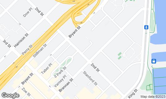 Map of 21st Amendment Brewery & Restaurant at 563 2nd St San Francisco, CA