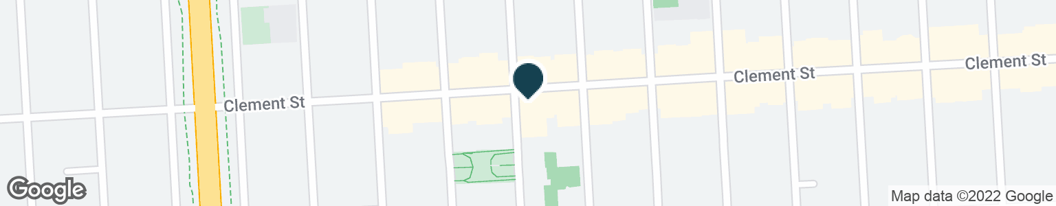 Google Map of745 CLEMENT ST