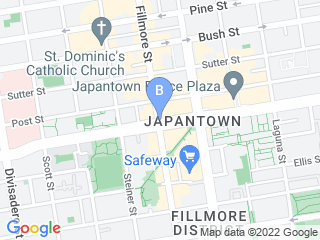 Map of SF Tails Dog Boarding options in San Francisco | Boarding