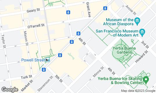 Map of Dirty Habit at 12 4th St San Francisco, CA