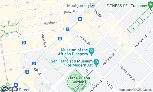 Map of California Pizza Kitchen at 53 3rd St San Francisco, CA