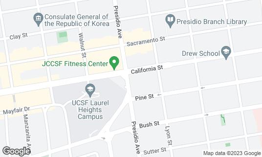 Map of Ella's at 500 Presidio Ave San Francisco, CA